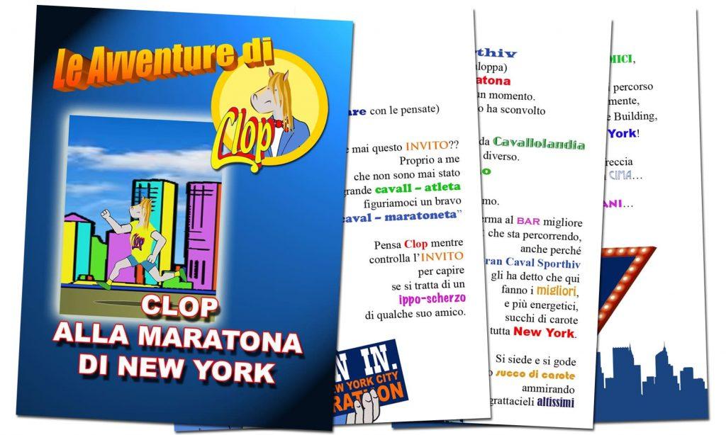 Libri divertenti Clop alla maratona di New York