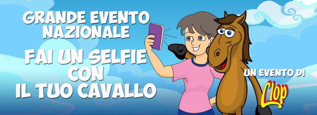 Fai un selfie con il tuo cavallo